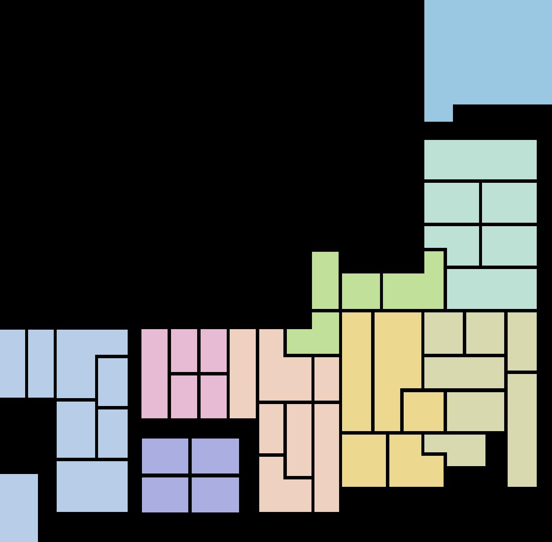 都道府県マップ