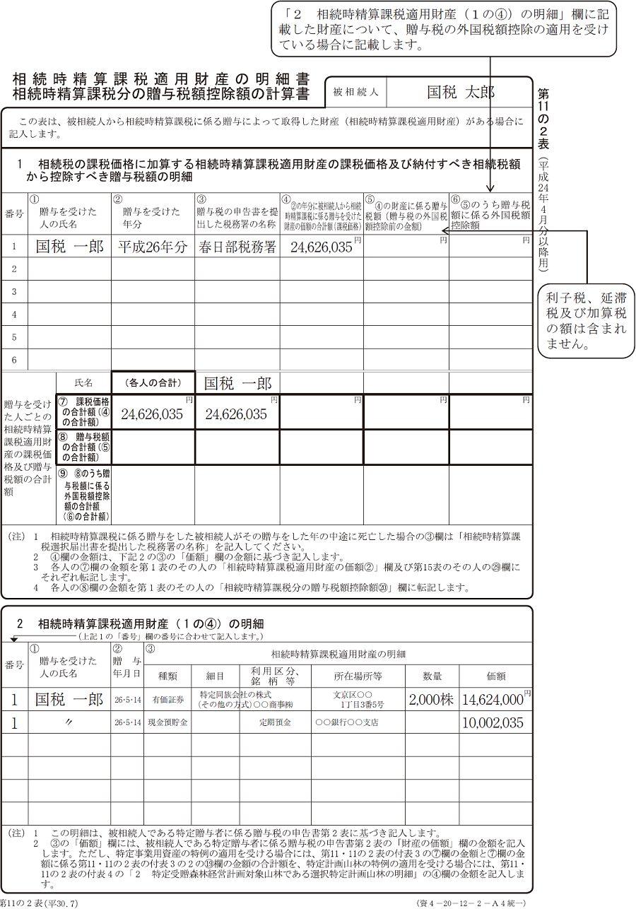 申告 贈与 税